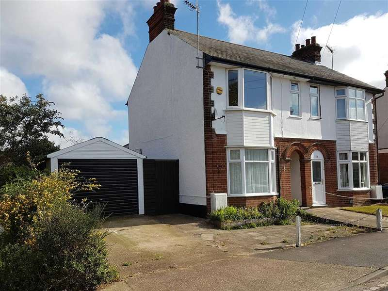 4 Bedrooms Semi Detached House for sale in Exeter Road, Ipswich
