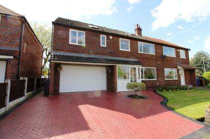 5 Bedrooms Semi Detached House for sale in Pasture Field Road, Manchester, Greater Manchester