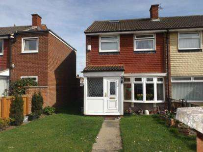 2 Bedrooms End Of Terrace House for sale in Albatross Way, Darlington