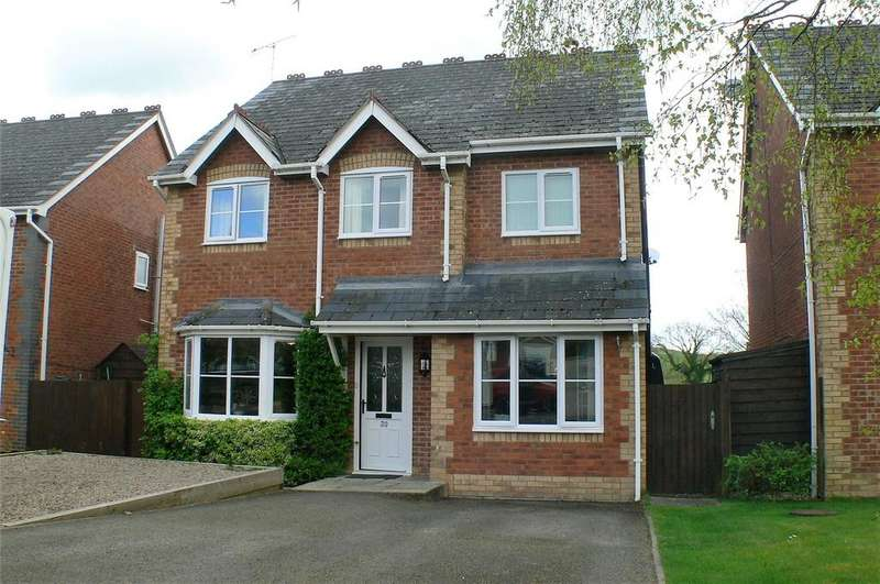4 Bedrooms Detached House for sale in Heritage Green, Forden, Welshpool, Powys