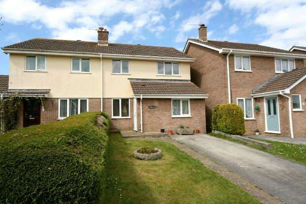 4 Bedrooms Semi Detached House for sale in Carne View Road, Probus