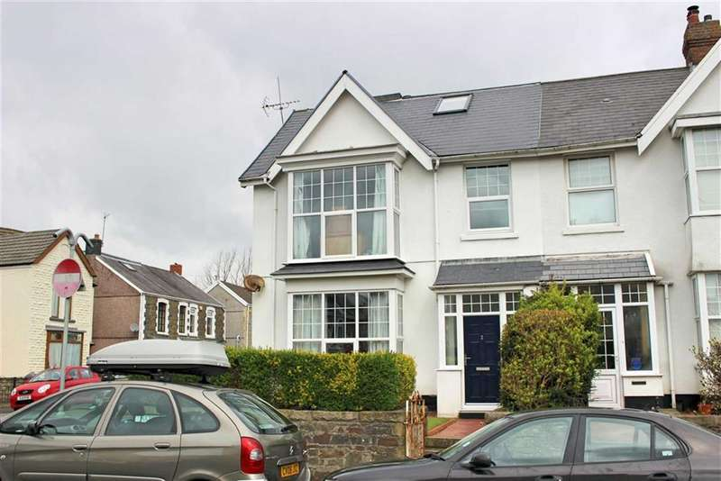 5 Bedrooms End Of Terrace House for sale in Hazelmere Road, Sketty
