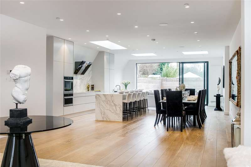 6 Bedrooms Semi Detached House for sale in Stevenage Road, London, SW6