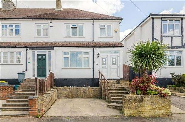 3 Bedrooms End Of Terrace House for sale in Campbell Road, CATERHAM, Surrey, CR3 5JP