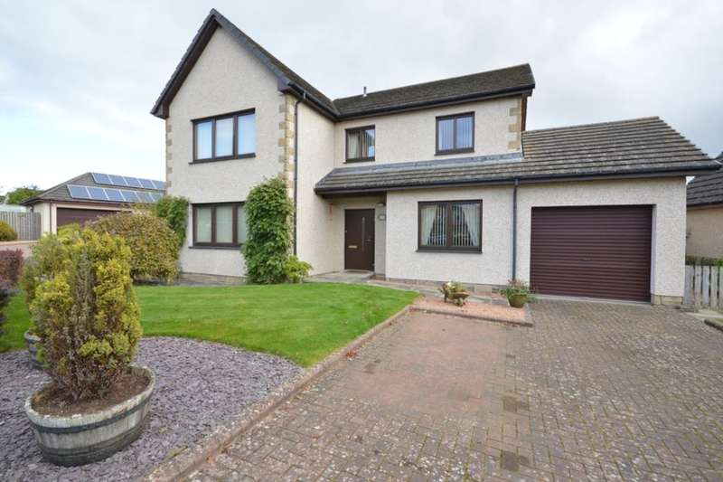 4 Bedrooms Detached House for sale in Pitcairn Drive, Balmullo, St. Andrews, KY16