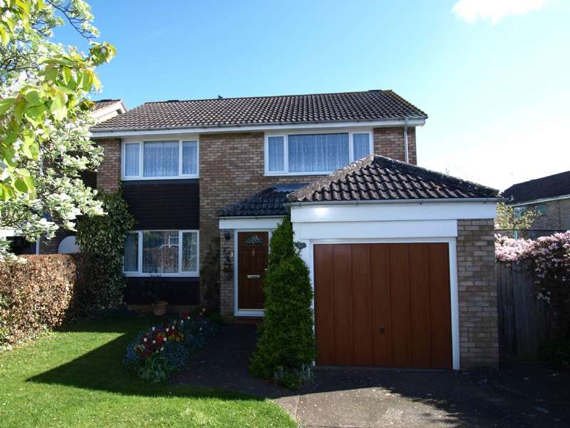 3 Bedrooms Detached House for sale in Tennyson Drive, Newport Pagnell, Buckinghamshire