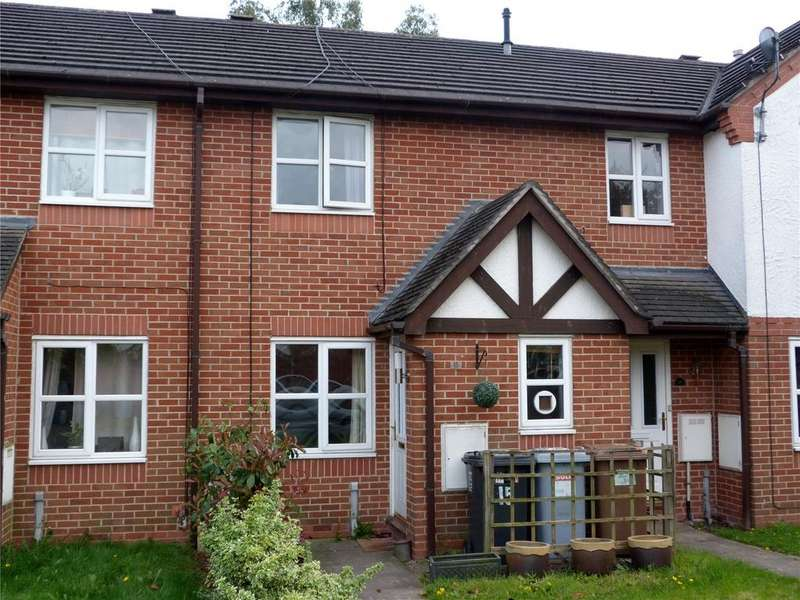 2 Bedrooms Terraced House for sale in Whittaker Close, Leighton, Crewe, Cheshire, CW1