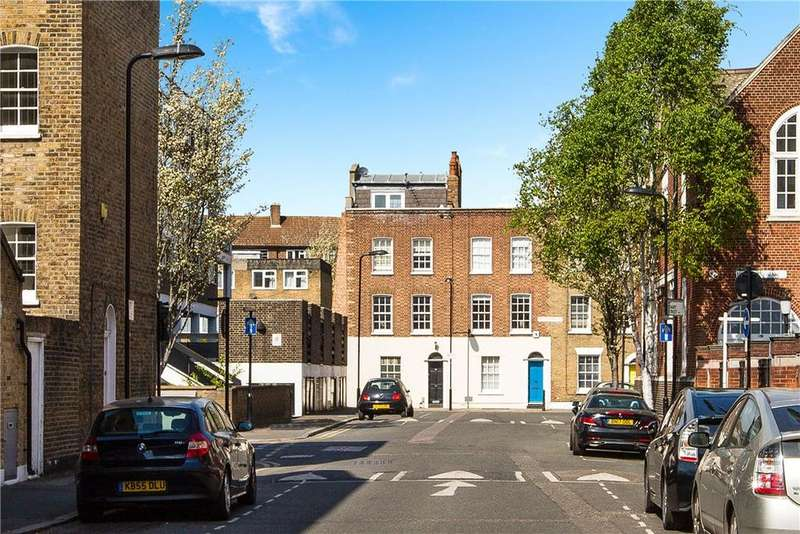 4 Bedrooms Terraced House for sale in Buttesland Street, Islington, London, N1
