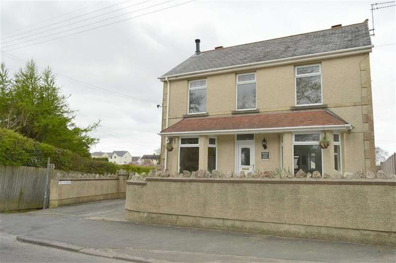 3 Bedrooms Detached House for sale in New Road, Llanmorlais, Llanmorlais Swansea