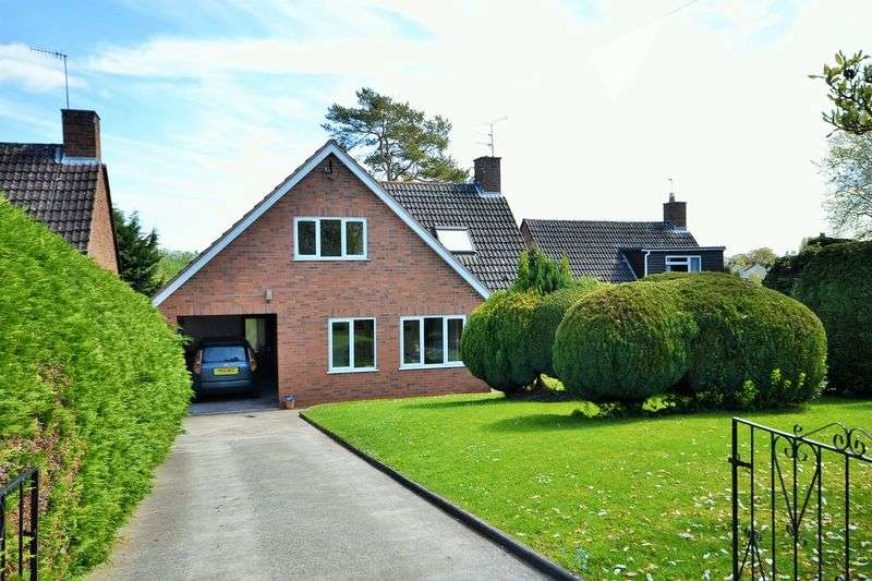 4 Bedrooms Detached House for sale in 11 Redgate Avenue, Tenbury Wells