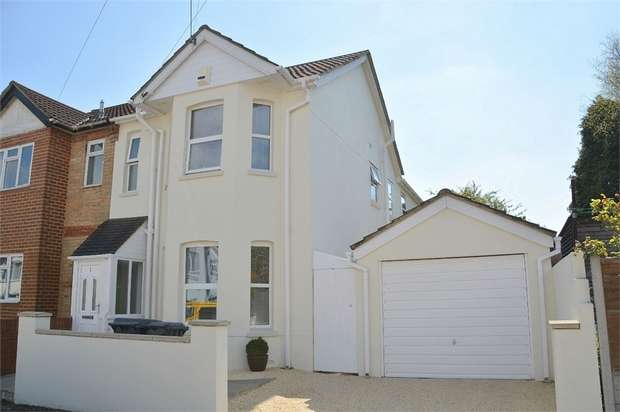 4 Bedrooms Semi Detached House for sale in Portland Road, Bournemouth, Dorset