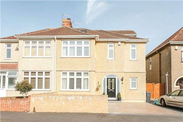 4 Bedrooms Semi Detached House for sale in Manor Road, Bishopsworth, Bristol BS13 8EP