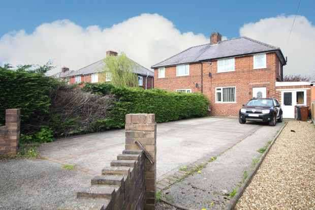 3 Bedrooms Semi Detached House for sale in Maes Owen, Mold, Flintshire, CH7 1DA