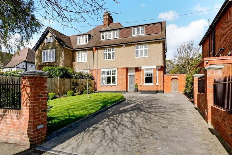 5 Bedrooms Semi Detached House for sale in Murray Road, Northwood, Middlesex, HA6
