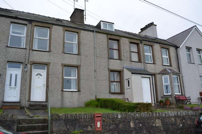 3 Bedrooms Terraced House for sale in 4 PISTYLL TERRACE, PISTYLL LL53