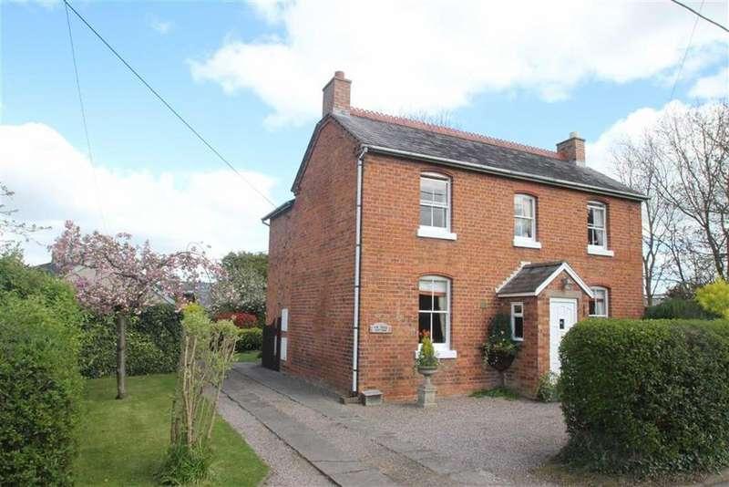 4 Bedrooms Detached House for sale in Racecourse Lane, Bicton Heath, Shrewsbury