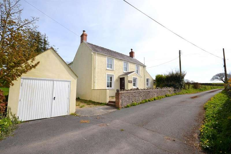 3 Bedrooms Detached House for sale in Four Ashes, Pembroke Dock
