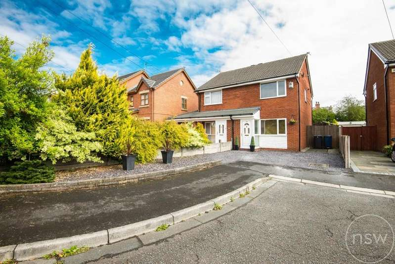 2 Bedrooms Semi Detached House for sale in Tennyson Drive, Ormskirk