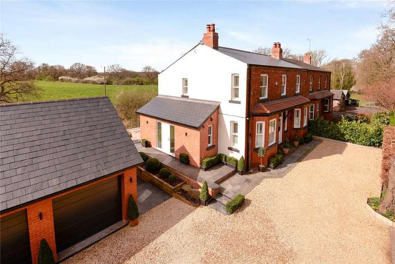 4 Bedrooms Semi Detached House for sale in Small Lane, Mobberley, Knutsford, Cheshire, WA16