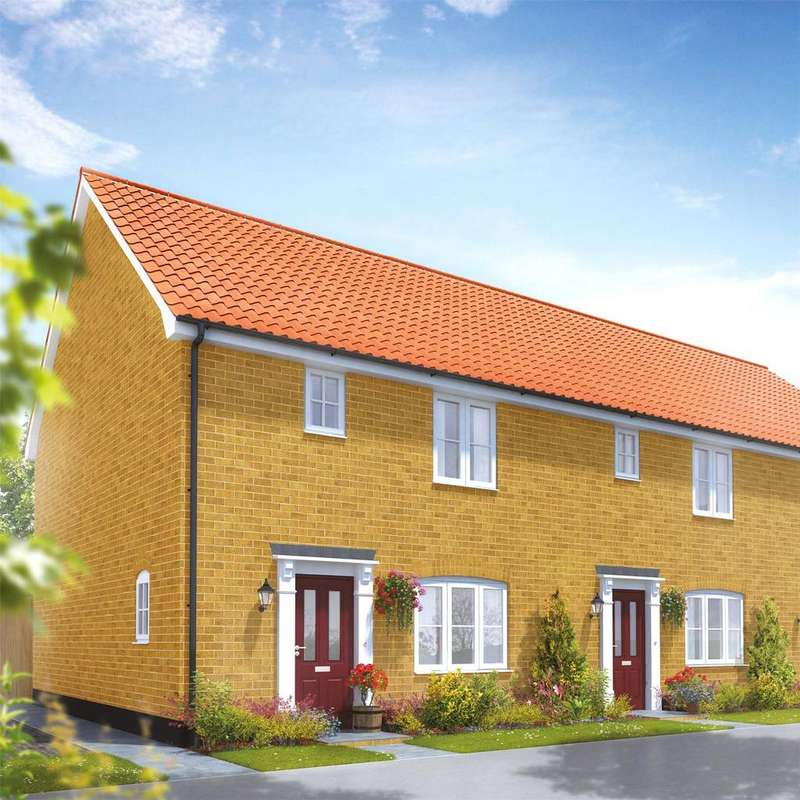 3 Bedrooms Semi Detached House for sale in Plot 86 Broadbeach Gardens, Stalham, Norfolk, NR12