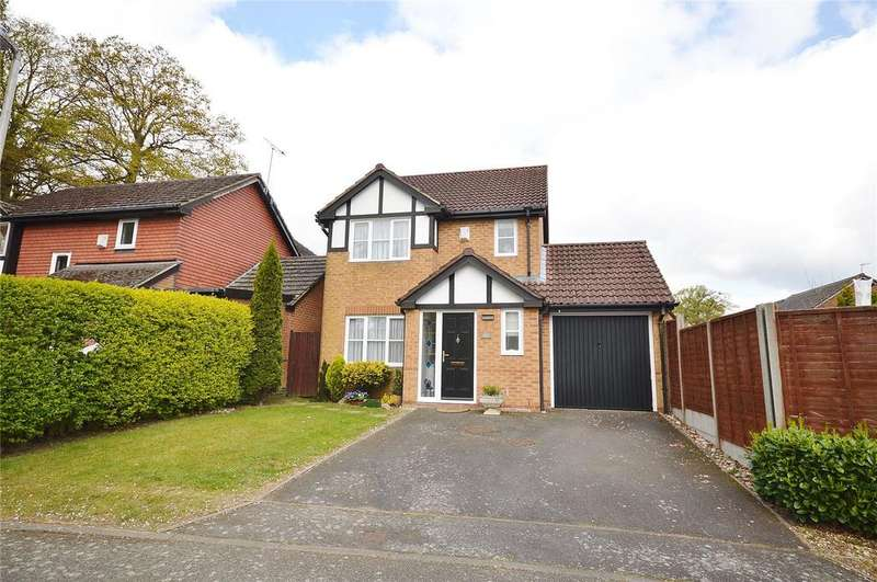 3 Bedrooms Detached House for sale in Bards Corner, Hemel Hempstead, Hertfordshire, HP1