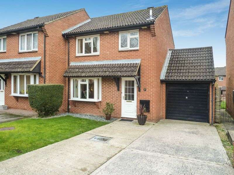 3 Bedrooms Semi Detached House for sale in SWALLOWMEAD, HARNHAM, SALISBURY, SP2
