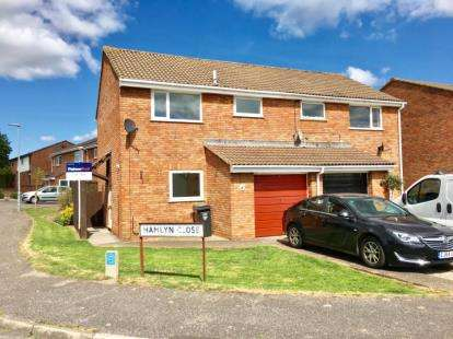 3 Bedrooms Semi Detached House for sale in Taunton, Somerset