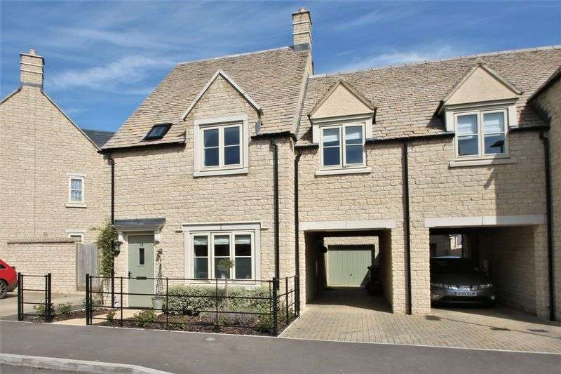 4 Bedrooms Semi Detached House for sale in Jacobs Piece, Fairford, Gloucestershire.