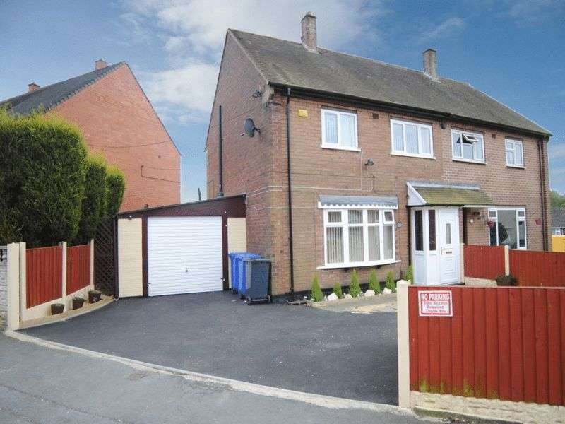 3 Bedrooms Semi Detached House for sale in Tiverton Road, Berryhill, Stoke-On-Trent, ST2 0AS