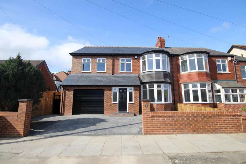 4 Bedrooms Semi Detached House for sale in Hobart, Whitley Bay, NE26