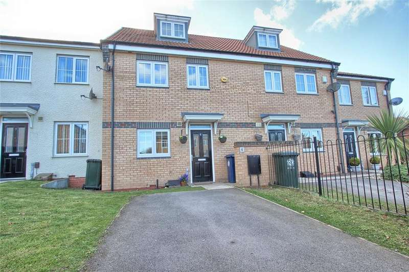 3 Bedrooms Terraced House for sale in Greenfield Mews, Marske