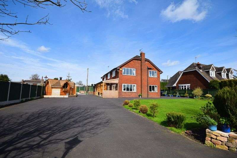 6 Bedrooms Detached House for sale in Hill Top, Brown Edge