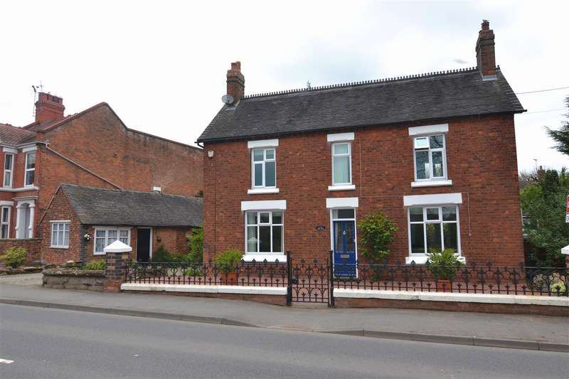 4 Bedrooms Detached House for sale in Rose Villa, Newport Road, Gnosall