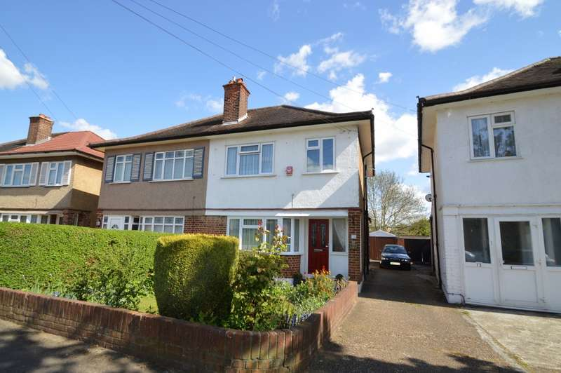 3 Bedrooms Semi Detached House for sale in Adelphi Crescent, Hayes, UB4