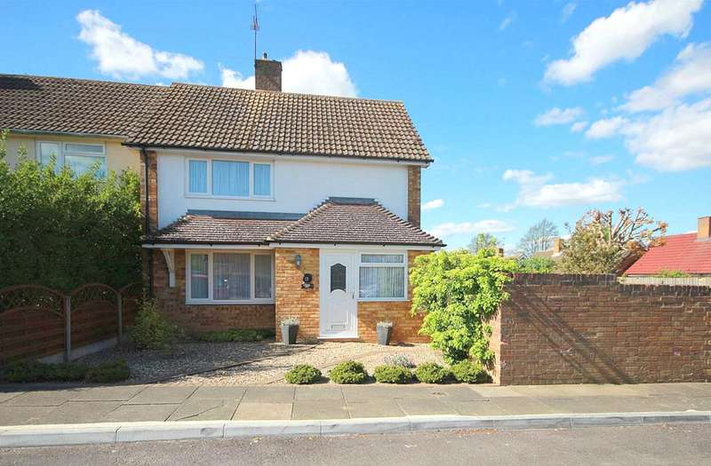 3 Bedrooms Semi Detached House for sale in 3 BED SEMI WITH PARKING IN SOUGHT AFTER LOCATION