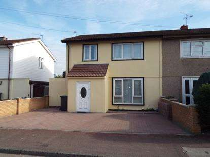 3 Bedrooms Semi Detached House for sale in Dagenham, Essex
