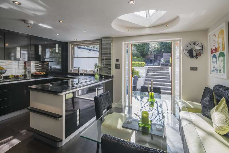4 Bedrooms House for sale in Blenheim Terrace, St Johns Wood