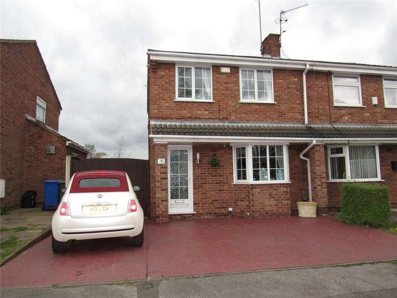 3 Bedrooms Semi Detached House for sale in Sandringham Drive, Mansfield Woodhouse, Nottinghamshire, NG19