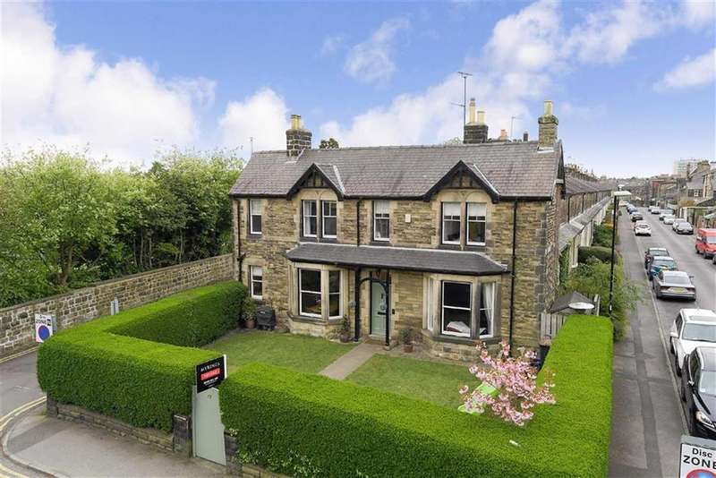 4 Bedrooms End Of Terrace House for sale in Grove Road, Harrogate, North Yorkshire