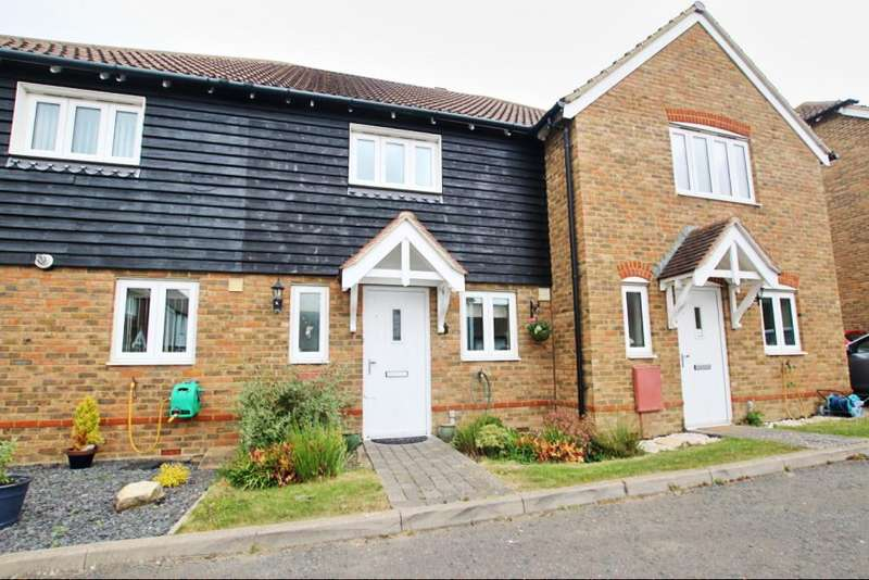 2 Bedrooms Terraced House for sale in Shetland Close, Hailsham BN27