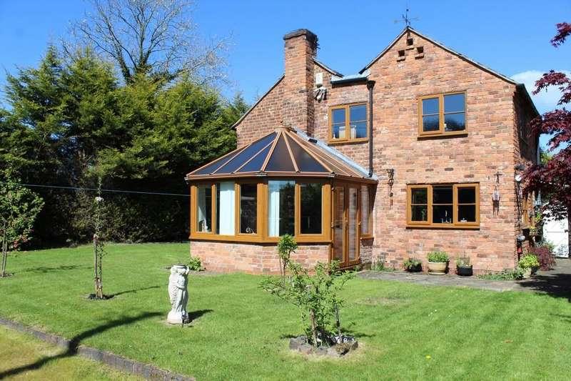 3 Bedrooms Detached House for sale in Steel Road, Tilstock
