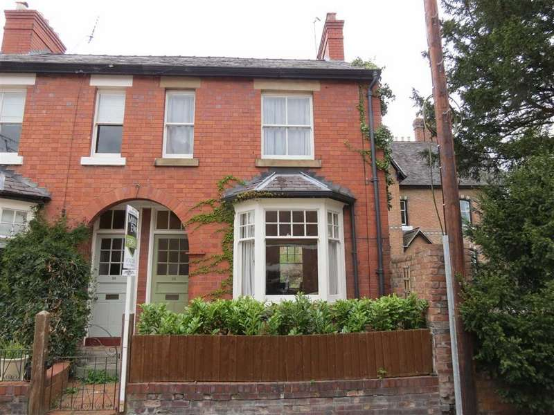 3 Bedrooms End Of Terrace House for sale in Longner Street, Mountfields, Shrewsbury, Shropshire