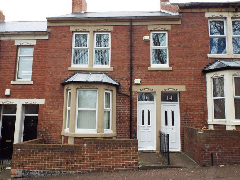 3 Bedrooms Flat for sale in Hilda Street, Gateshead NE8