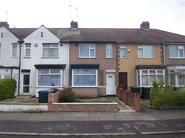 2 Bedrooms Terraced House for sale in Eastcotes, Tile Hill, Coventry