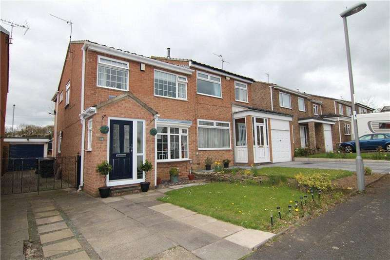 3 Bedrooms Semi Detached House for sale in Alfreton Close, Brandon, Durham, DH7