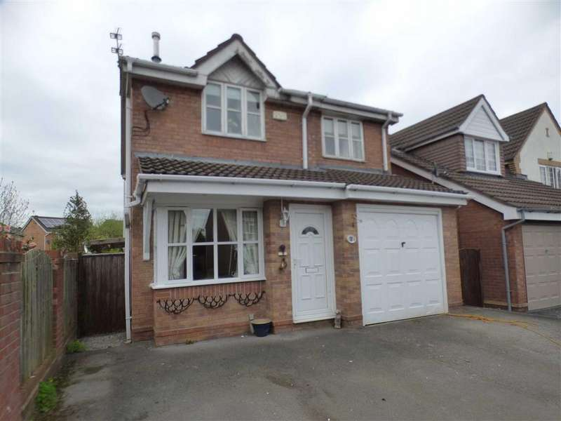 4 Bedrooms Detached House for sale in 1, Dryden Way, Cheadle