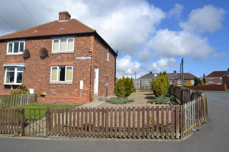 2 Bedrooms Semi Detached House for sale in Manisty Terrace, Easington, Peterlee, Co.Durham, SR8