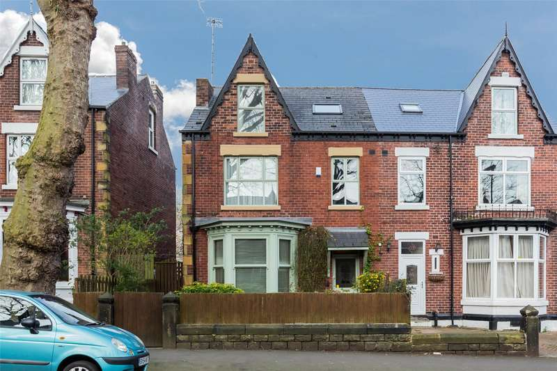 5 Bedrooms Semi Detached House for sale in Carter Knowle Road, Sheffield, South Yorkshire, S7