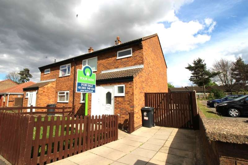 3 Bedrooms Semi Detached House for sale in Radburn Road, New Rossington, Doncaster, DN11