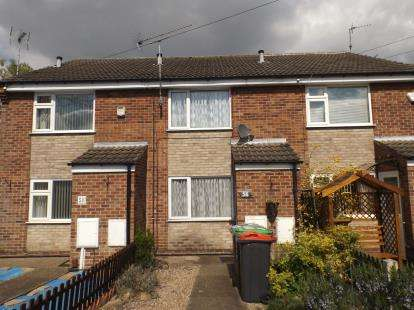 2 Bedrooms Terraced House for sale in Hazel Grove, Hucknall, Nottingham, Nottinghamshire